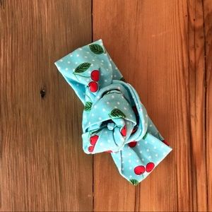 Accessories - Cherry Print Baby Headband